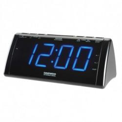 Daewoo Radio réveil avec projecteur LCD 222932 USB