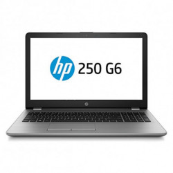 HP 250 G6 Argent Ordinateur portable 39,6 cm (15.6) 1920 x 1080 pixels Intel® Core™ i5 de 7e génération i5-7200U 8 Go 1WY58EA