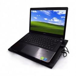 Ewent EW1257 système de refroidissement pour ordinateurs portables 43,2 cm (17) Noir