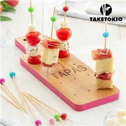 TakeTokio Bambus Set für Tapas (16 Teile)