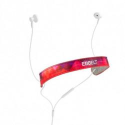 Ebbelt Auriculares de Botón URBAN 31325 Rojo