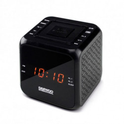 Daewoo Radiowecker DCR-450 Schwarz