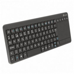 NGS TV Warrior teclado RF Wireless QWERTY Preto TVWARRIOR