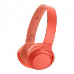 Sony WH-H800 Circumaurale Padiglione auricolare Rosso WHH800R