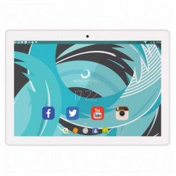 Brigmton BTPC-1024QC-B Tablet Allwinner A64 16 GB Weiß