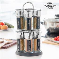 Estante Especiero con 12 Especias Bravissima Kitchen
