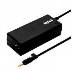 iggual IGG315484 adaptador e inversor de corriente Interior 90 W Negro