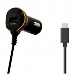 Chargeur de voiture Ref. 138208 USB Micro USB Noir