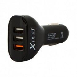 Chargeur de voiture Ref. 138260 3 x USB-A Noir