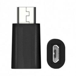 Ewent Adaptador USB C a Micro USB 2.0 EW9645 5V Negro