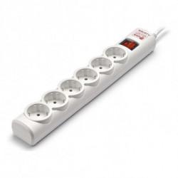 Salicru Regleta Enchufes 6 Tomas con Interruptor 680BA-03