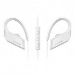 Panasonic Casques Bluetooth avec Microphone RP-BTS35E-W Blanc