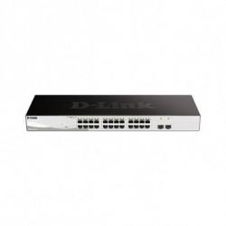 D-Link DGS-1210-26 network switch Managed L2 Gigabit Ethernet (10/100/1000) Black,Grey 1U