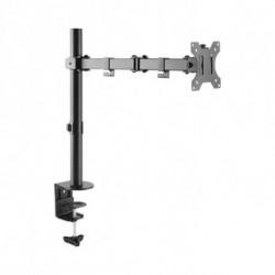 TooQ Soporte de Mesa Giratorio e Inclinable para Pantalla (Monitor / TV Plasma / LCD / LED) 13-32, de Un Brazo, max 8 DB1032TN-B