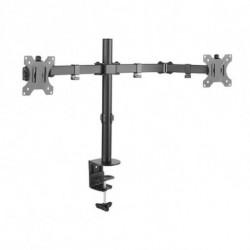 TooQ DB1232TN-B supporto da tavolo per Tv a schermo piatto 81,3 cm (32) Morsa/Bullone di ancoraggio Nero