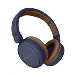 Energy Sistem Bluetooth Kopfhörer mit Mikrofon 444885 Blau