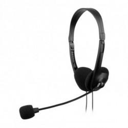 Tacens AH118 auricular para telemóvel Binaural Fita de cabeça Preto