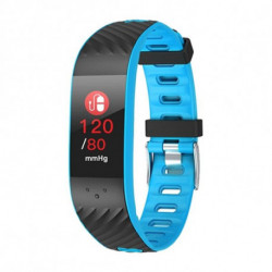Brigmton BSPORT-16 Wristband activity tracker Black,Blue IP67 OLED 2.44 cm (0.96) BSPORT-16-A