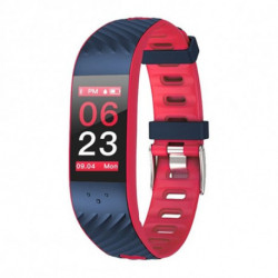 Brigmton BSPORT-16 Bracelet connecté Bleu, Rouge IP67 OLED 2,44 cm (0.96) BSPORT-16-R