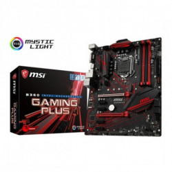 MSI B360 GAMING PLUS Motherboard LGA 1151 (Buchse H4) ATX Intel® B360 7B22-002R