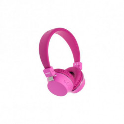 Denver Electronics BTH-205PINK auricolare per telefono cellulare Stereofonico Padiglione auricolare Rosa 111191020142