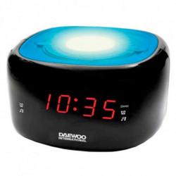 Daewoo Radiowecker DCR-440BL LED FM Blau