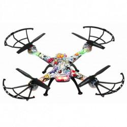 Denver Electronics DCH-460 Kameradrohne Quadrocopter Mehrfarbig 4 Rotoren 0,3 MP 650 mAh 117101140050