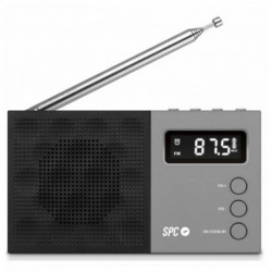 SPC Rádio Transistor 4577N FM LCD Preto