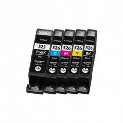 Inkoem Cartouche d'Encre Recyclée M-525BK Noir