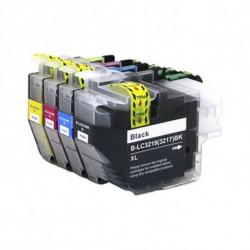 Inkoem Cartouche d'Encre Recyclée M-LC3219BK Noir