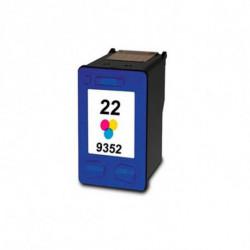 Inkoem Cartucho de tinta reciclado M-H-22 XL Cor
