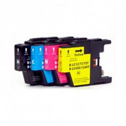 Inkoem Cartouche d'Encre Compatible LC1240XL Cyan