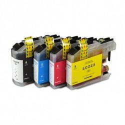 Inkoem Cartuccia d'inchiostro compatibile LC223 Ciano