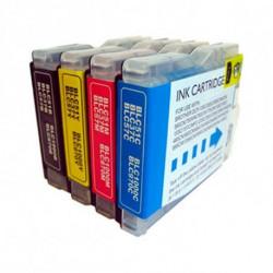 Inkoem Cartouche d'Encre Compatible LC970XL Cyan