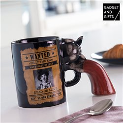 Tasse Révolver Wanted Gadget and Gifts