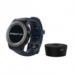 Brigmton BWATCH-100GPS reloj inteligente Negro, Gris IPS 3,3 cm (1.3) GPS (satélite) BWATCH-100GPS-A