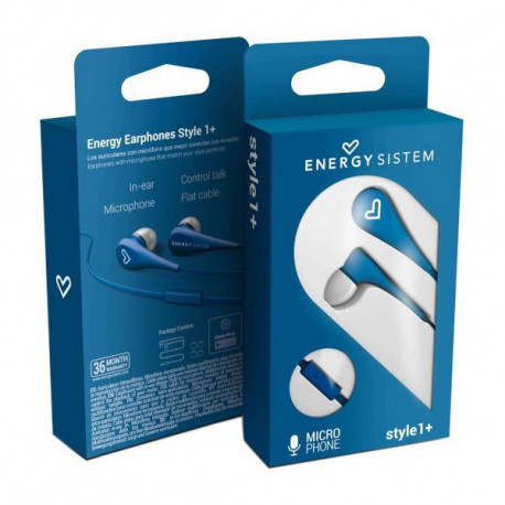 Energy Sistem Kopfhörer mit Mikrofon Style 1 Rot