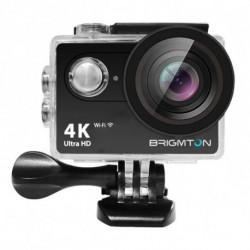 BRIGMTON Caméra de sport BSC-10-HD4K Wifi Noir BSC-10HD4K