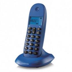 Motorola Téléphone Sans Fil C1001 Violet 107C1001VIOLETA
