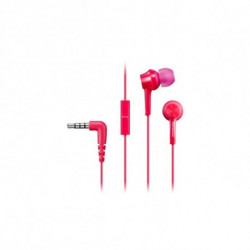 Panasonic Casques avec Microphone In-ear RP-TCM115E Rose