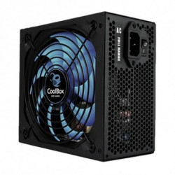 CoolBox DeepPower BR-800 unidad de fuente de alimentación 800 W ATX Negro DG-PWS800-85B