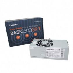 CoolBox BASIC500GR-T unidad de fuente de alimentación 500 W TFX Gris COO-FA500TGR