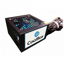 CoolBox Force BR-500 power supply unit 500 W ATX Black COO-PWEP500-85S