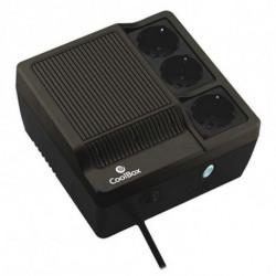 CoolBox Sai Scudo 600 alimentation d'énergie non interruptible 600 VA 300 W 3 sortie(s) CA SAICOOSC600B