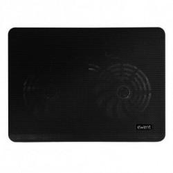 Ewent EW1256 Notebook-Kühlpad 43,2 cm (17 Zoll) 1000 RPM Schwarz