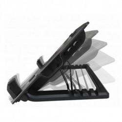 Ewent EW1258 base di raffreddamento per notebook 43,2 cm (17) 1000 Giri/min Nero