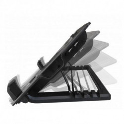 Ewent EW1258 notebook cooling pad 43.2 cm (17) 1000 RPM Black
