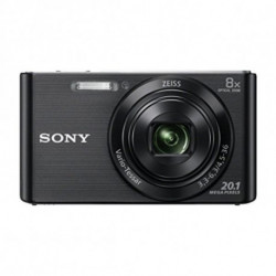 Sony DSC-W830 Câmara compacta 20,1 MP CCD 5152 x 3864 pixels Preto DSCW830B.CE3