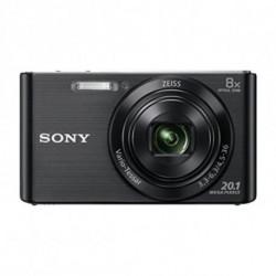 Sony Cyber-shot DSCW830, fotocamera compatta con zoom ottico 8x, Viola DSCW830V.CE3