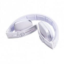 Hiditec Wave auricular para telemóvel Binaural Fita de cabeça Branco WHP010002